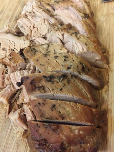 Slow Cooker Svinemørbrad med balsamico og hvidløg